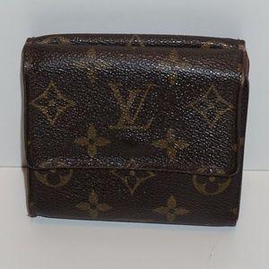 Louis Vuitton Monotram Portefeiulle Elise Wallet
